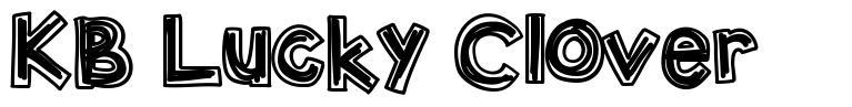 KB Lucky Clover font