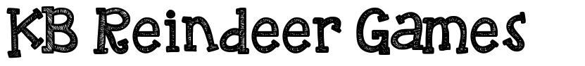 KB Reindeer Games font