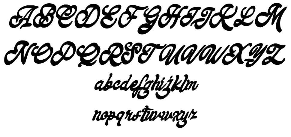 Keyrey font