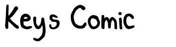 Key's Comic font