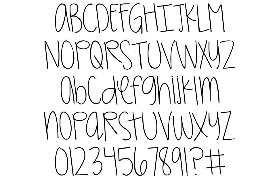KG Girl On Fire font