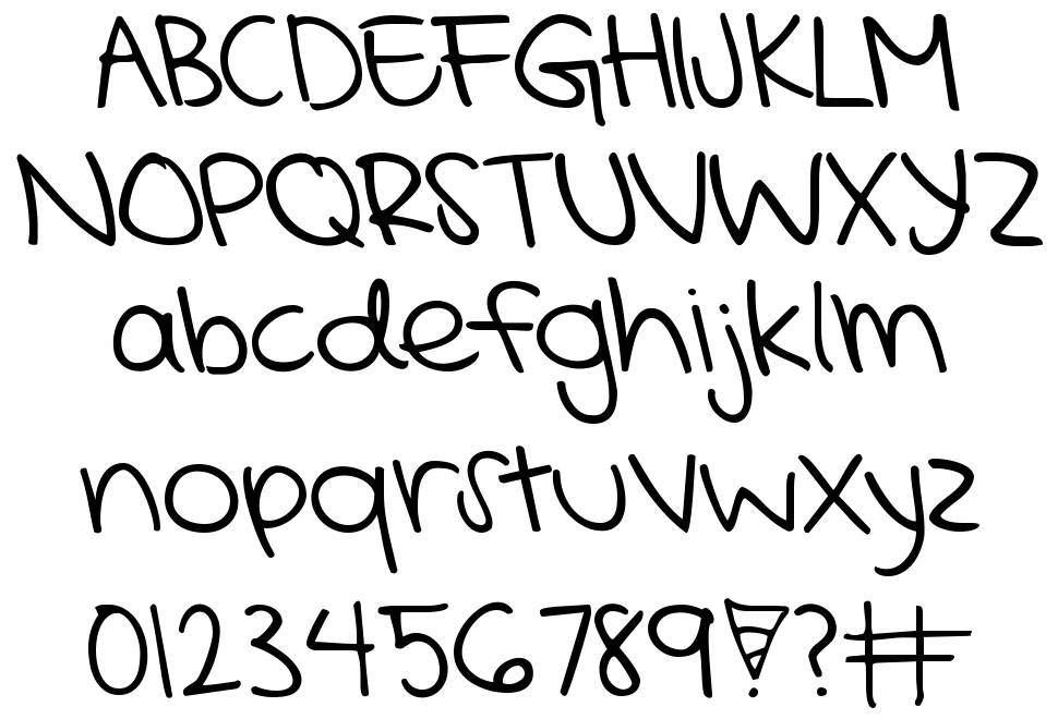 KG Mercy in the Morning font