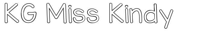 KG Miss Kindy