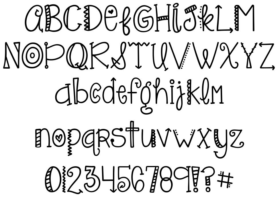 KG Only Hope font by Kimberly Geswein - FontRiver