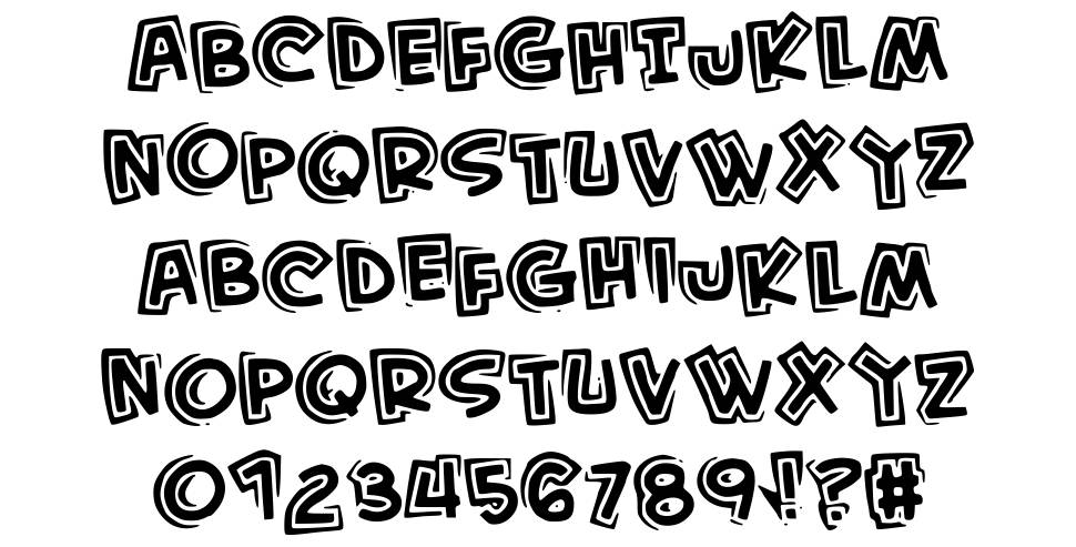 Kid From Hell font
