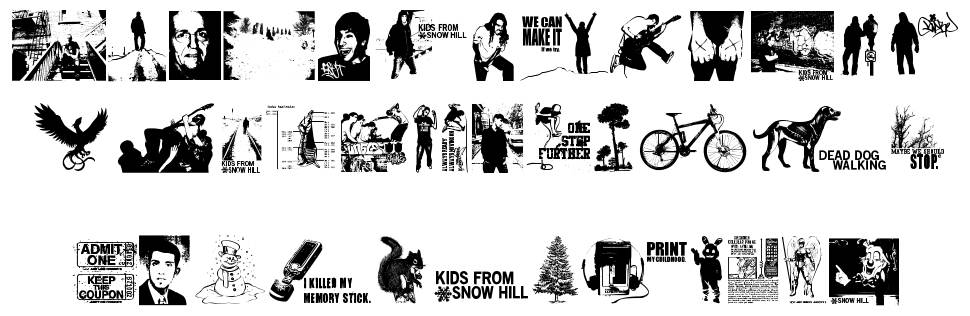 Kids From Snow Hill font