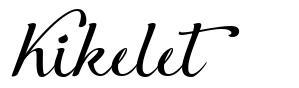 Kikelet písmo