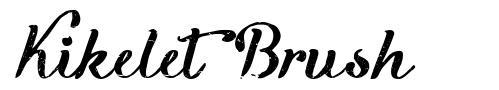 Kikelet Brush font