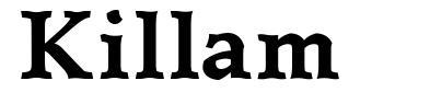 Killam font