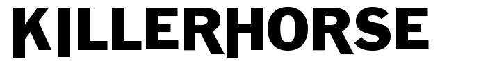 Killerhorse font