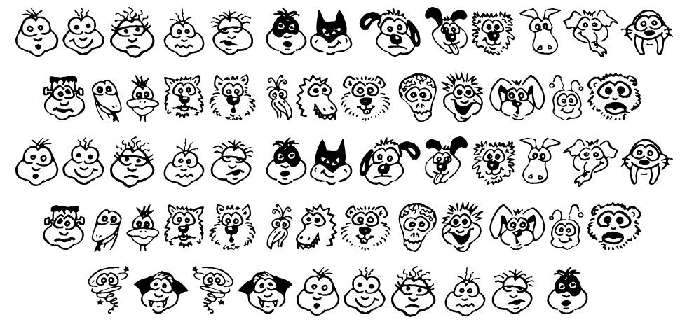 Kims Toons font