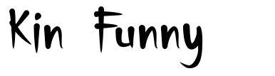 Kin Funny font