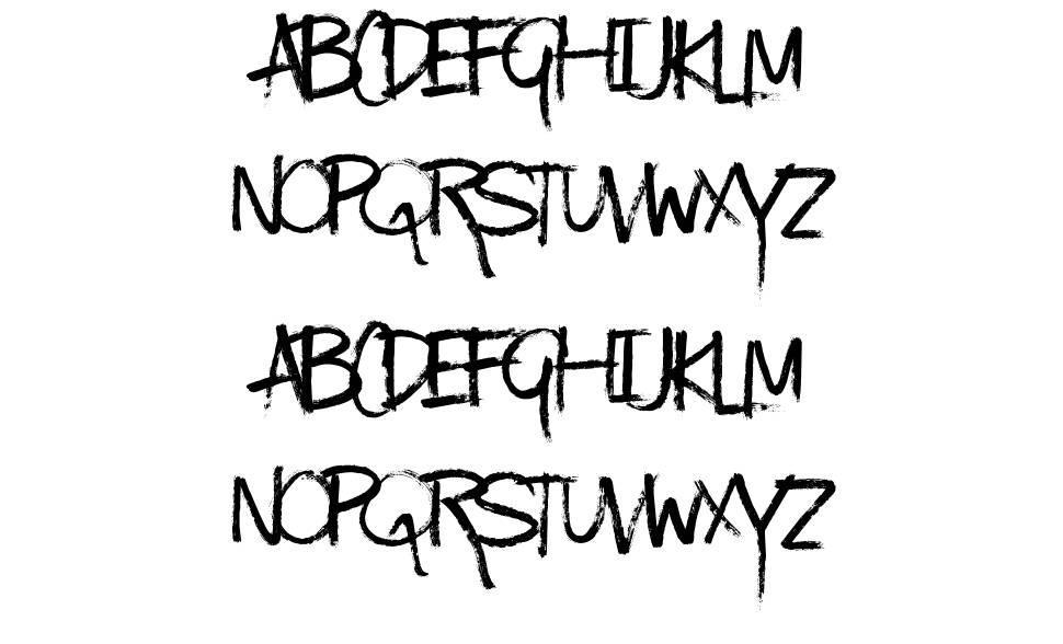 Kinda Messy font