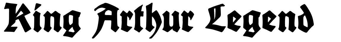 King Arthur Legend 字形