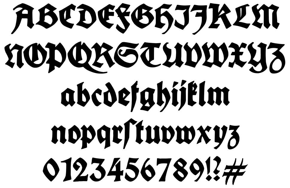 King Arthur Legend font