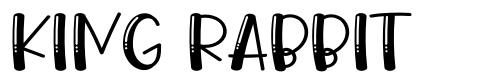King Rabbit font