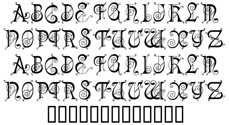 Kingdom Come font