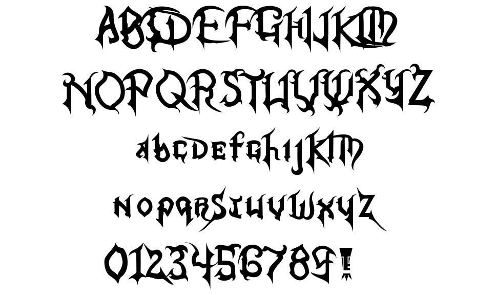 Kingdom Hearts font