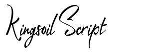 Kingsoil Script