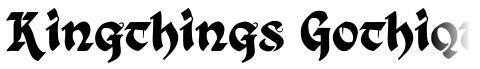 Kingthings Gothique + Xander