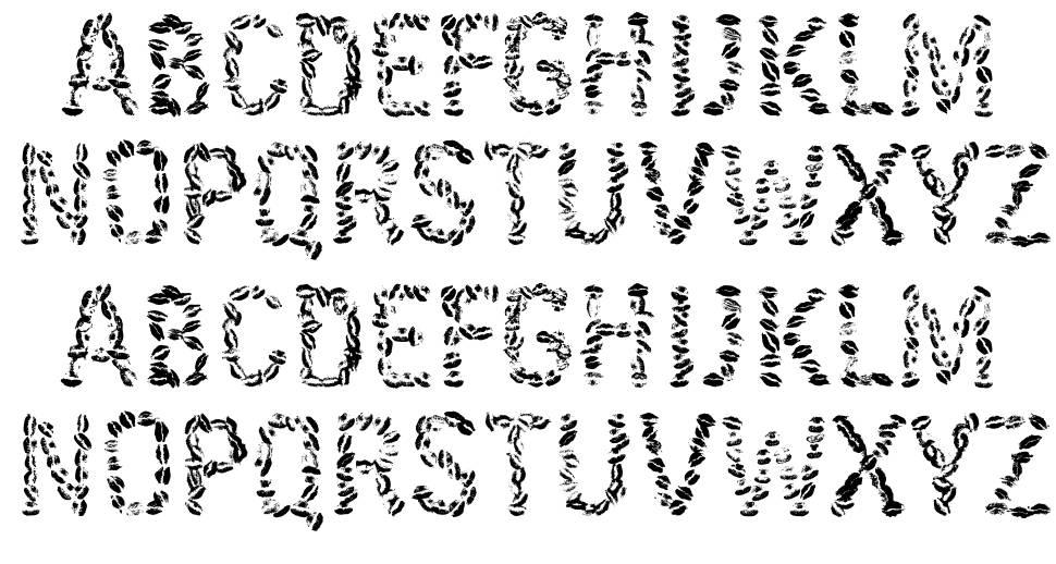 Kissingfont font