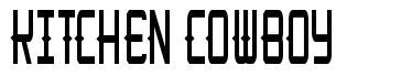 Kitchen Cowboy font