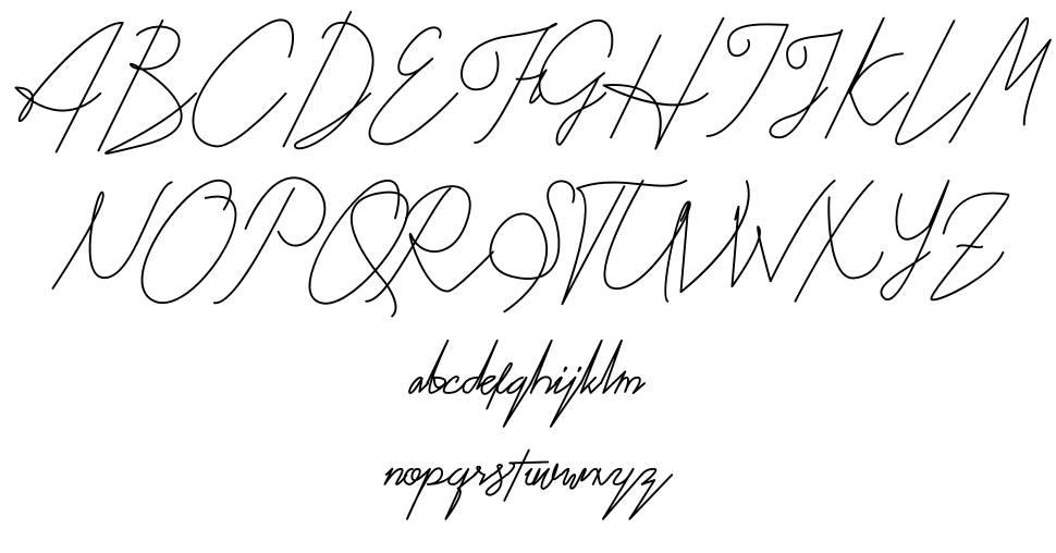 Kitti Script font