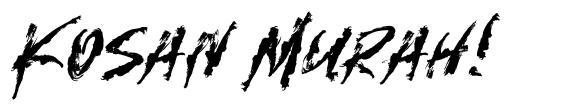 Kosan Murah! font