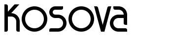 Kosova font