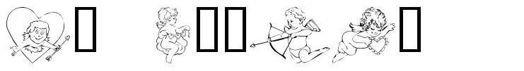 KR Cupids font