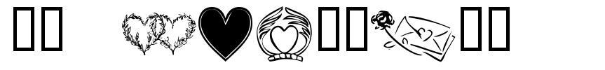 KR Heartily font