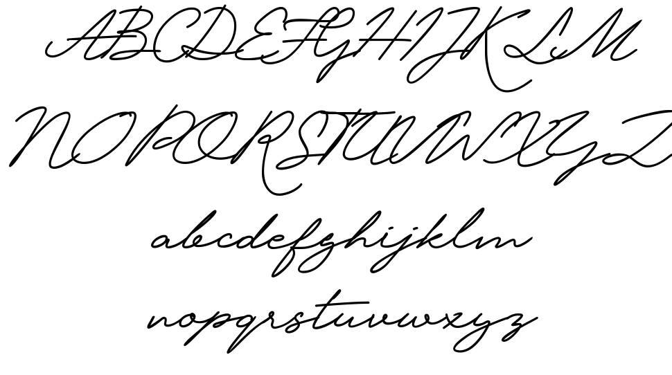 Krakatau font