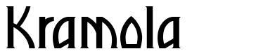 Kramola font