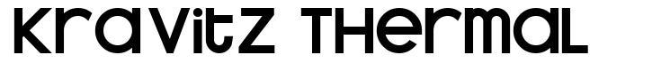 Kravitz Thermal 字形