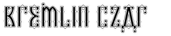 Kremlin Czar font