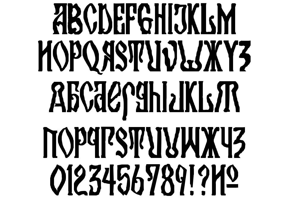 Kremlin Orthodox Church font