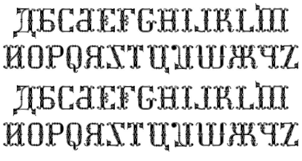 Kremlin Synod Display Caps font