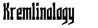 Kremlinology font