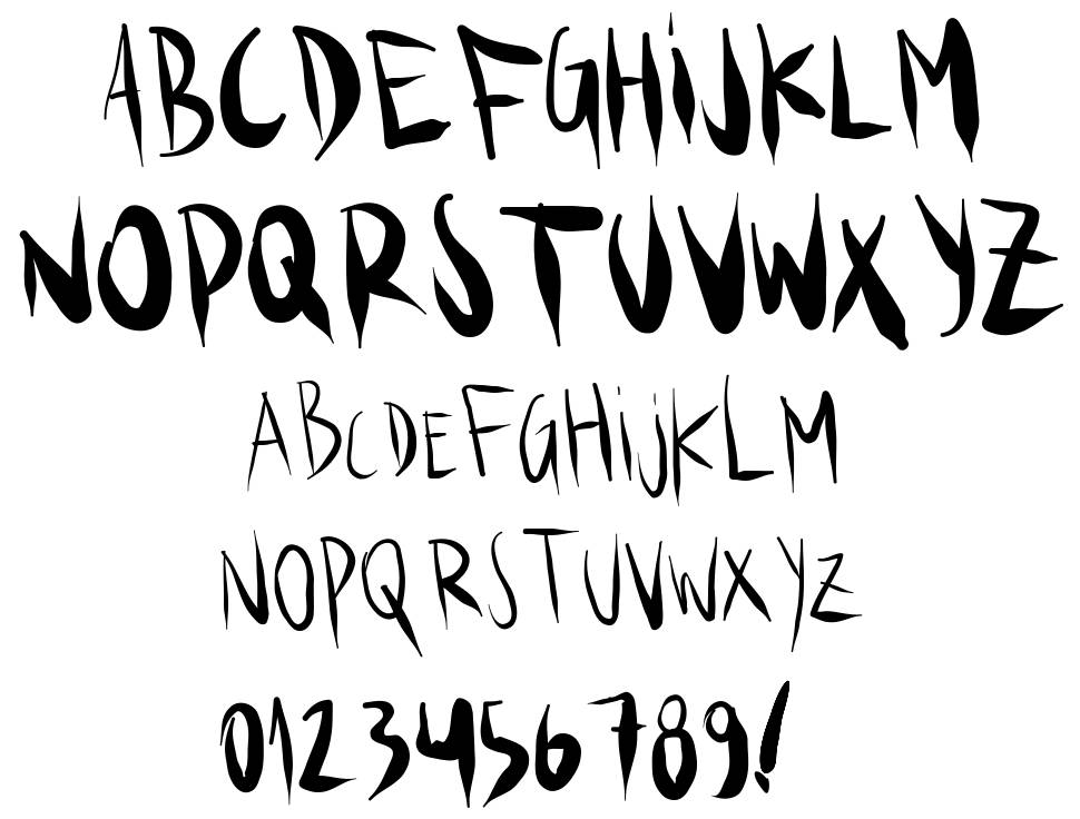 Ks.Brush font