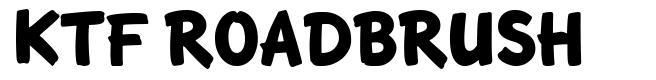 KTF Roadbrush font