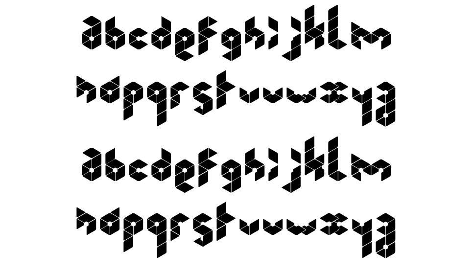 Kubrubi font