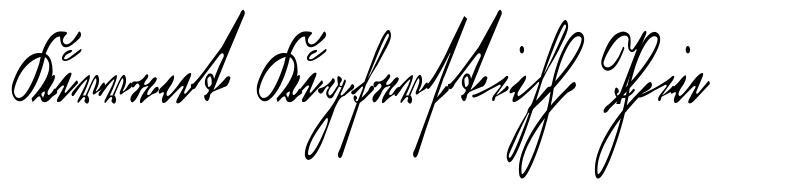 Kurrent Kupferstich Thin font