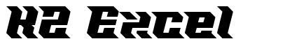 KZ Excel font