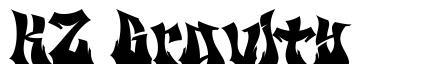KZ Gravity 字形