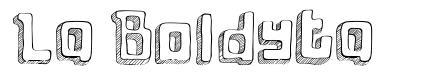 La Boldyta font