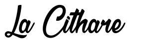 La Cithare