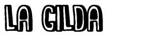 La Gilda フォント