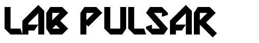 Lab Pulsar шрифт