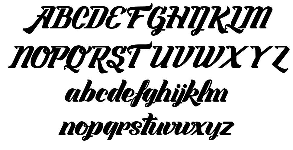 Labyrinthe du Paradis шрифт