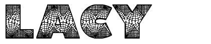 Lacy font